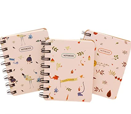 Gespout Cuaderno Notas Infantil Papelería Libreta Papel Cuadernos Agenda Libro Notas Pintura Papel de Etiqueta Memorándum Deseando Botellas Amigo ...