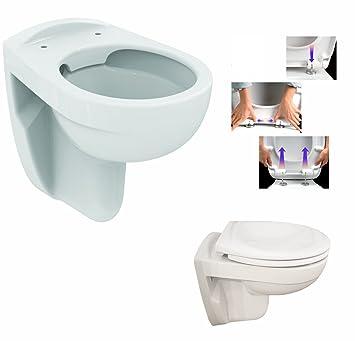 Super Ideal Standard Eurovit Wand Tiefspül WC, Spülrandlos mit WE54