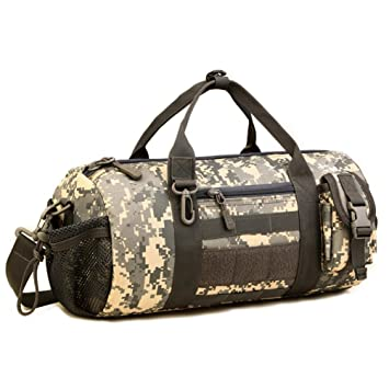 6b0cba33f9 Protector Plus Military Tactical Duffle Bag Molle Gym Travel Hiking and  Trekking Sports Bag