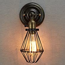 CLAXY Ecopower Industrial Opening and Closing Light Wall Sconce --1 Pack
