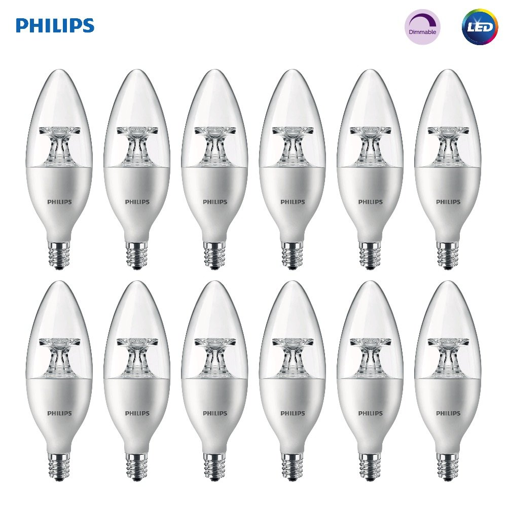 Phillips Clear Candle LED Bright Bulb