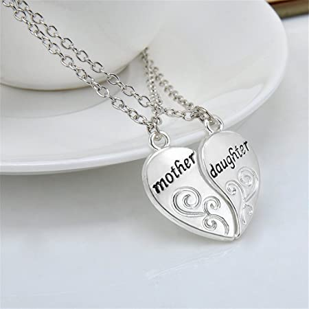 Elistelle mother and daughter necklaces pendant a pair necklace elistelle mother and daughter necklaces pendant a pair necklace aloadofball Choice Image