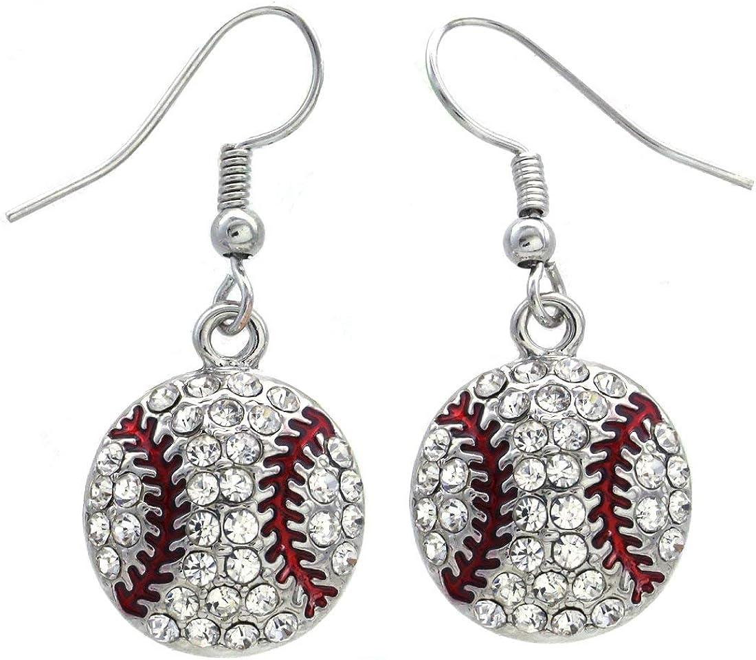 Sports Hobby Jewelry Antiqued Softball Earrings Personalized Baseball Earrings Baseball Mom DELAYED SHIP Sale Baseball Glove Earrings