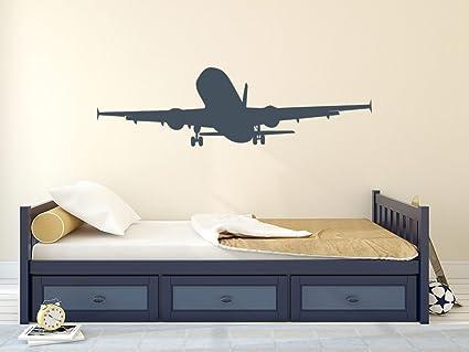 Decorazioni Per Camerette Ragazzi : Adesivo da parete aereo aria decorazione per cameretta ragazzi
