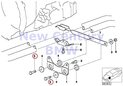 Amazon Com Bmw Genuine Fillister Head Screw M8x35 10 9 Zns3 318i