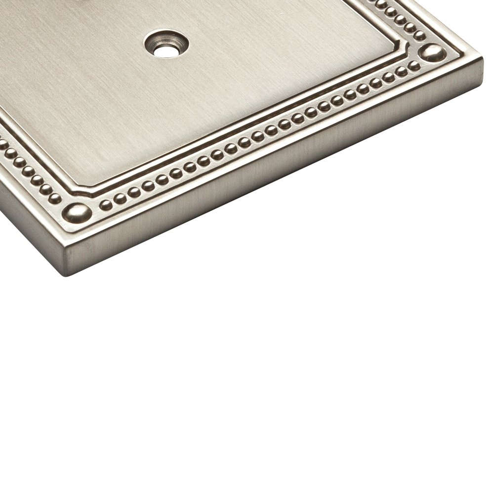 Franklin Brass W35066-SN-C Classic Beaded Triple Switch Wall Plate/Switch Plate/Cover, Satin Nickel by Franklin Brass (Image #5)
