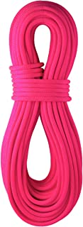 product image for BlueWater Ropes 9.7mm Lightning Pro Double Dry Dynamic Single Rope (Solid Neon Pink, 70M)