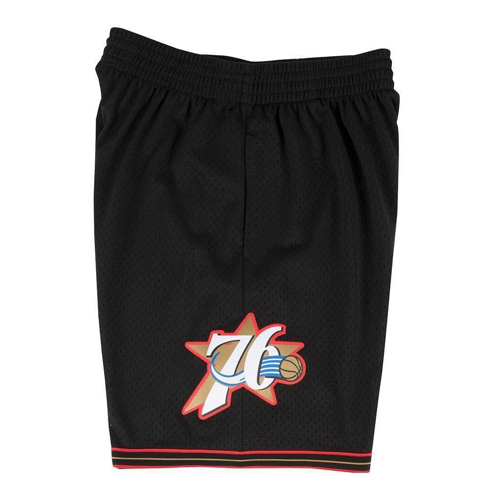 Mitchell & Ness Philadelphia 76ers 76ers 76ers 2000-2001 Swingman NBA Shorts Schwarz 6fe6e4