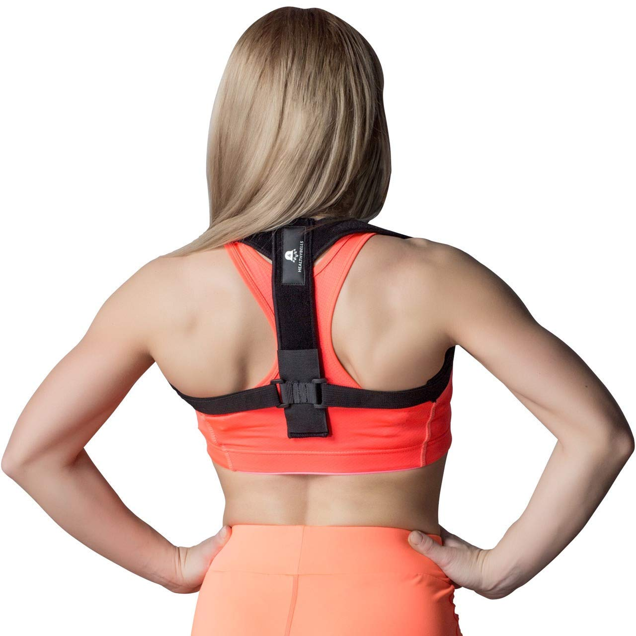 2 in 1 Clavicle Brace and Posture Corrector for Women & Men – Premium Clavicle Support with Super Soft Straps – Shoulder Posture Corrector – Prevents Slouching – Relieves Neck and Upper Back Pain