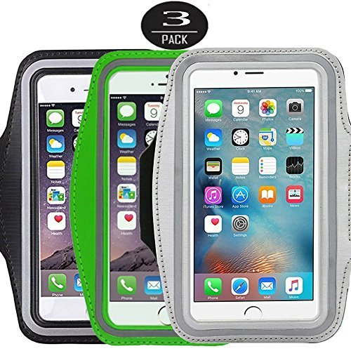 3-packrunning-armbandcasehq-sports-water-resistant-with-key-holder-pouch-fit-iphone-7-6-6s-plus55-in