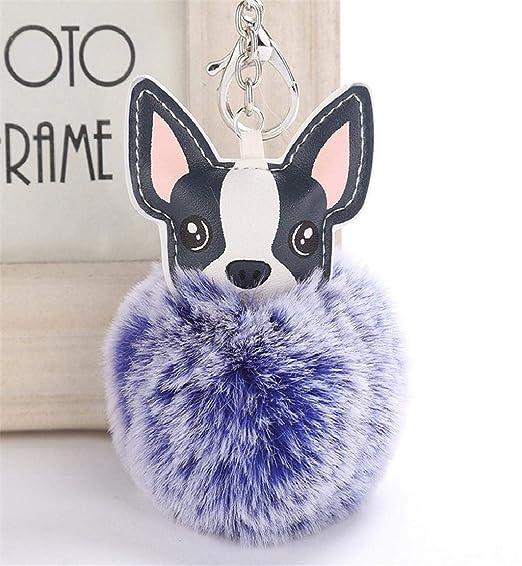 Deesee (TM) - Llavero con forma de perro, 8 cm, para mujer ...