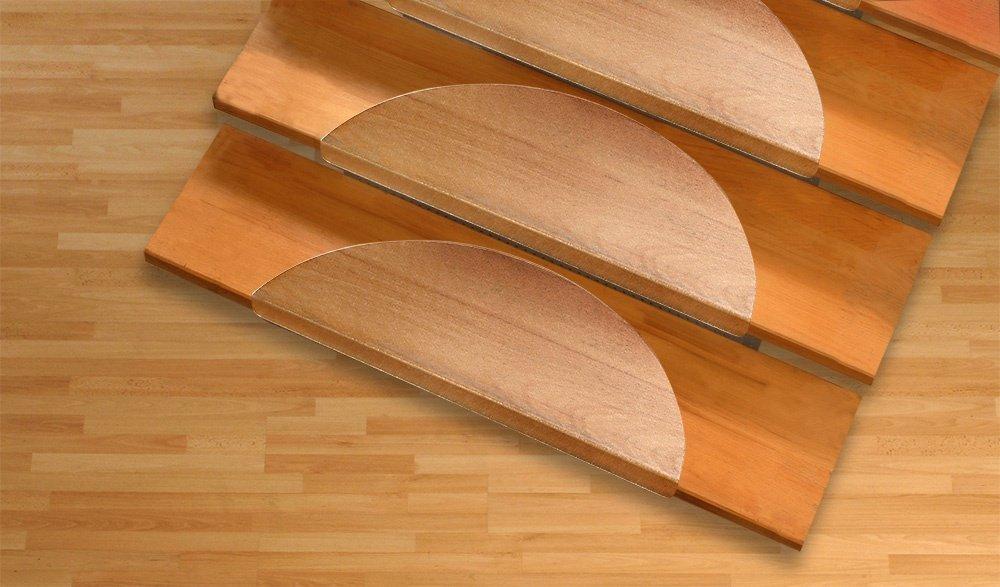 Floordirekt Stufenmatten für Treppenstufen - transparent - 15x56cm ...