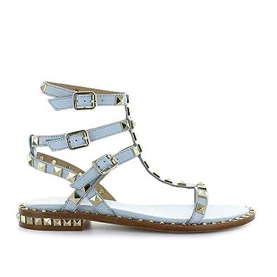 Ash Chaussures Femme Sandales Poison Ice Bleu Printemps-Été 2018 ... b67965d17928