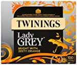 Twinings Lady Grey 100's (Pack of 4,...