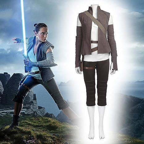 Disfraces para Adultos, Cosplay Star Wars Rey Disfraz Ropa ...
