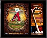 "Arizona Diamondbacks Sublimated 12"" x 15"" Team Logo Plaque - Fanatics Authentic Certified - MLB Team Plaques and Collages"