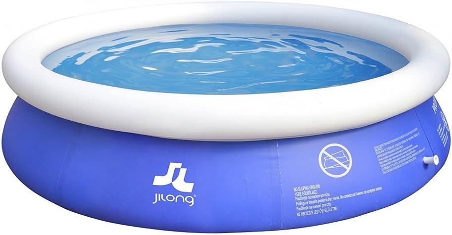 Jilong - Piscina autoportante redonda, Marin Blue, 3.0 m x 76 cm ...