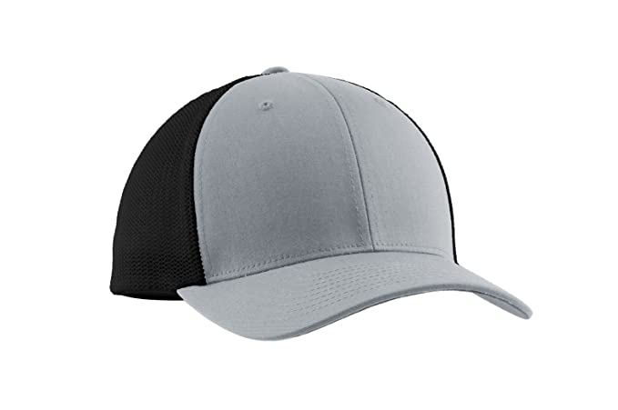 433dcb93b6e Image Unavailable. Image not available for. Color  Port Authority Flexfit  Mesh Back Cap-L XL ...