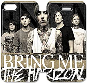 Screen Protection Phone Cases Bring Me The Horizon-11 iPhone 5C Leather Flip Case