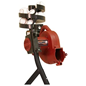 Heater Sports Baseball Pitching Machine for Kids, Teens, and Adults, Includes Automatic Ballfeeder