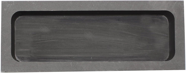 musykrafties Rectangulares Joyer/ía Vaciado Grafito Molde de Lingote Crisol para Fundir de Refinaci/ón Chatarra Precioso Metal #1441 180x70x50mm