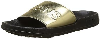 46008e31b Tommy Jeans Women s Tj Metallic Pool Slide Beach Shoes  Amazon.co.uk ...