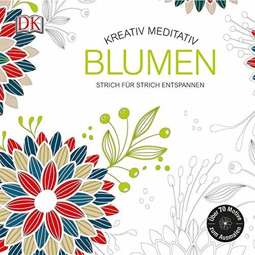 Kreativ meditativ Blumen: Strich für Strich entspannen