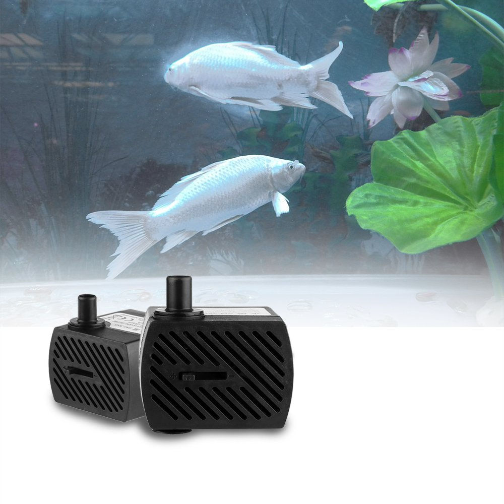 /étang Statuaire Aquarium ultra-silencieux EU Plug AC 220-240V 5W 350L Sunsbell Pompe submersible eau pompe submersible Fish Tank h H D/ébit pompe Brushless Mini /étanche submersible Pompe /à eau pour animaux Fontaines