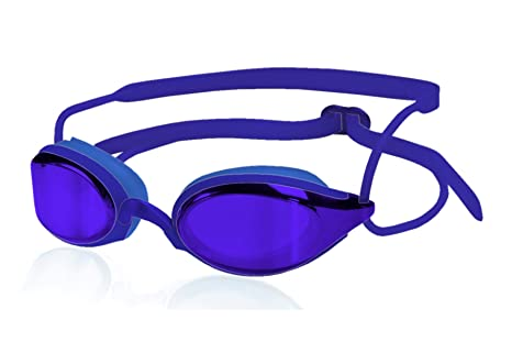 eba8f408ca93 Amazon.com   Zoggs 300888-434 Fusion Air S XL - Swim Goggles (Royal ...