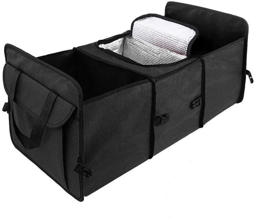 DINKANUR Car Trunk Organizer Oxford Cloth Trunk Cooler Storage Bag - photo