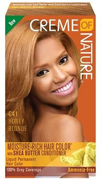 Amazon Com Creme Of Nature Liquid Hair Color Honey Blonde Beauty