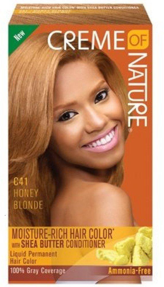 Amazon Creme Of Nature Liquid Hair Color Honey Blonde Beauty
