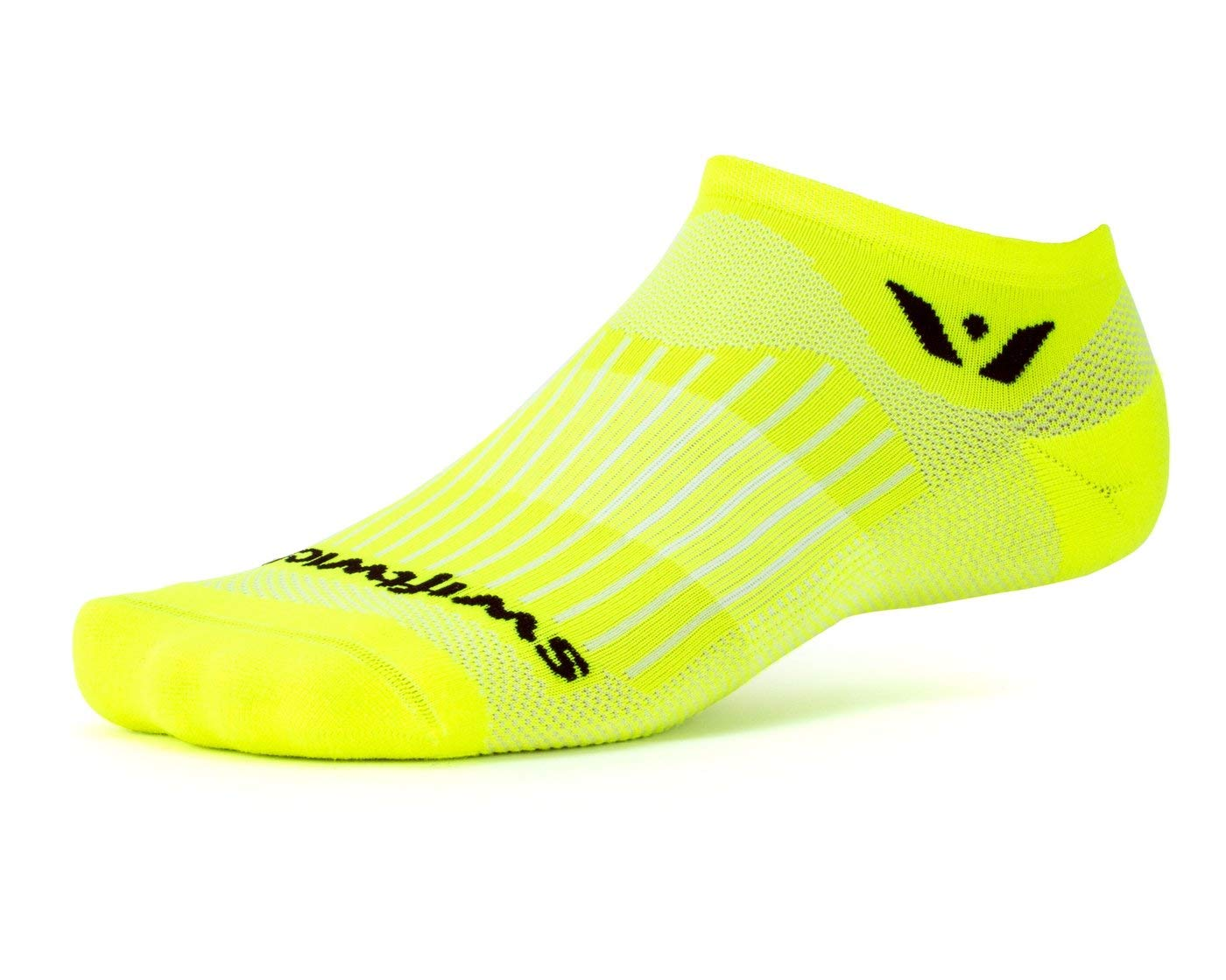 Socks Built for Running /& Cycling Fast Drying Swiftwick- Aspire Zero Firm Compression No Show Socks AIREZERO