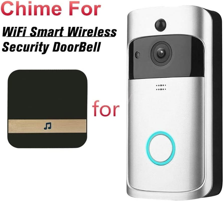 Universal Plug-in Chime Smart Video Doorbell Receiver Smart APP Remote Control for iOS and Android KuDiff
