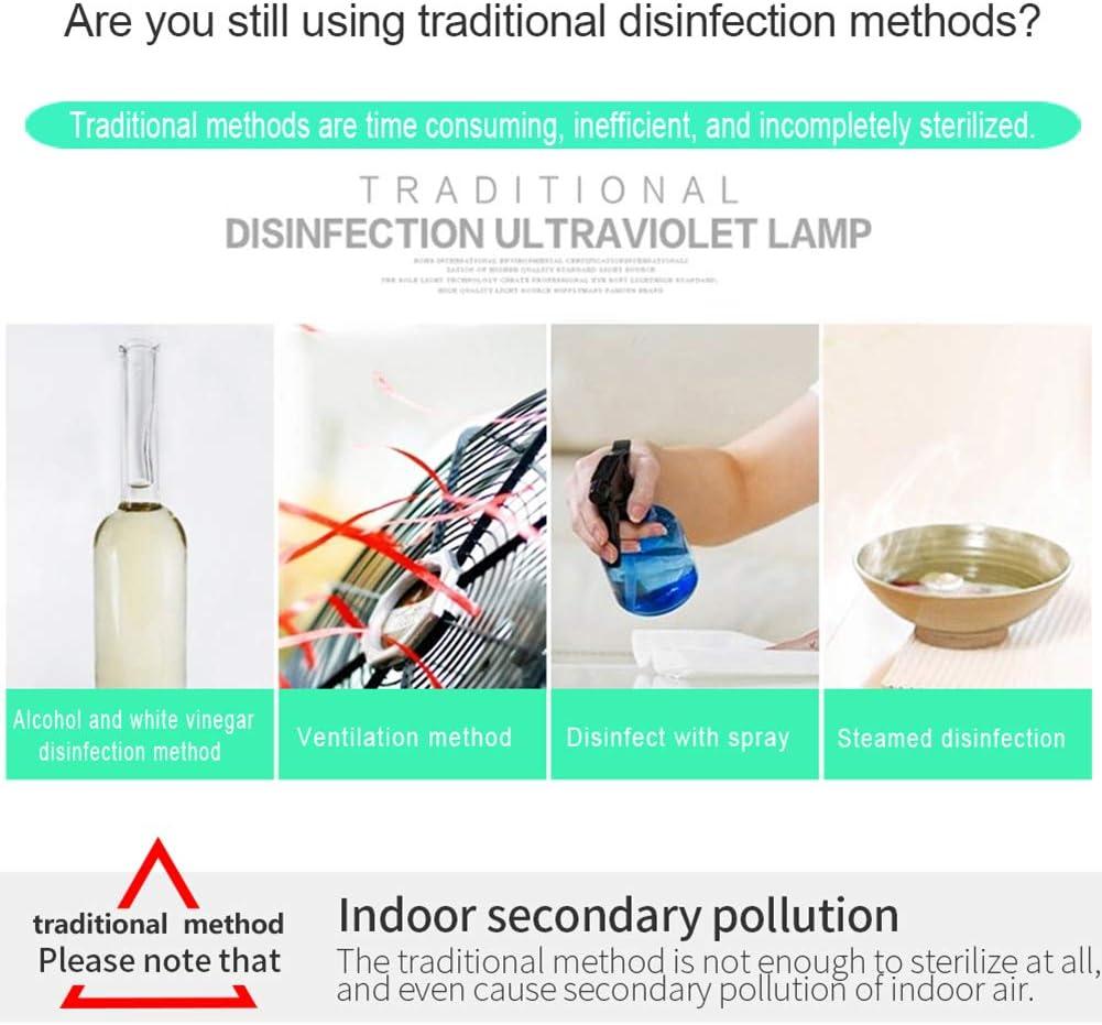 D/ésinfectant Pour voiture animal domestique 5 W chambre /à coucher D/ésinfectant UV D/ésinfectant UV h/ôtel cuisine salon