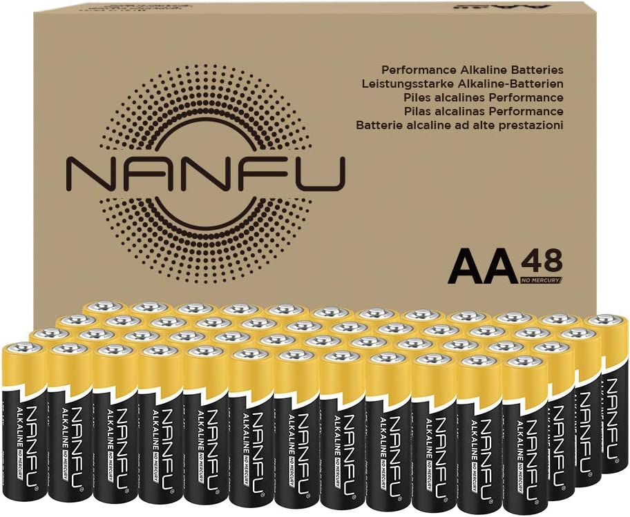 High Performance AA Alkaline Batteries