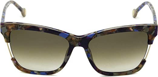 Carolina Herrera Gafas de Sol SHE752560767 (Diametro 56 mm), Stamped (0767), 56 Unisex-Adult: Amazon.es: Ropa y accesorios