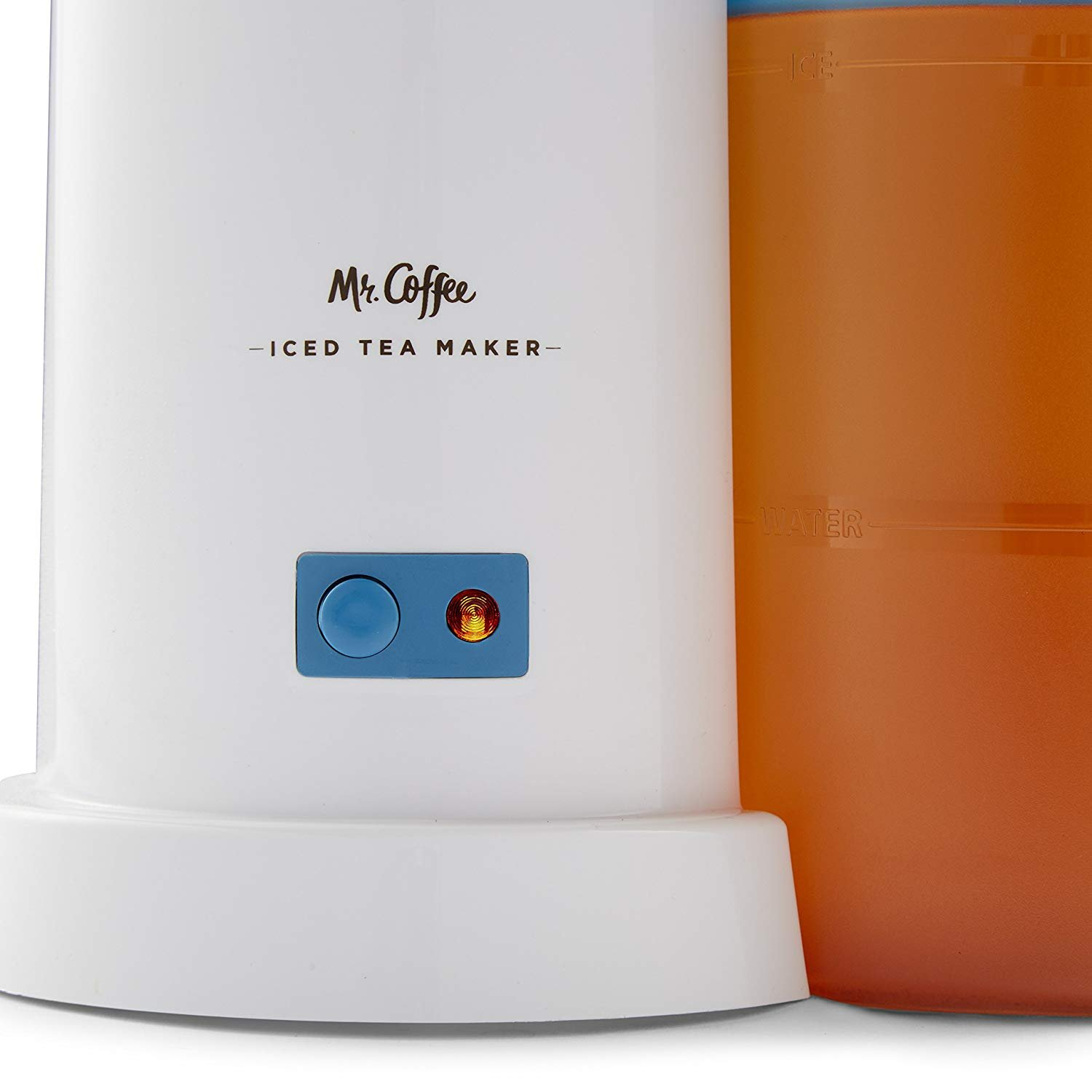 TM1 2-Quart Iced Tea Maker for Loose or Bagged Tea, Blue by Mr. Coffee. (Image #4)