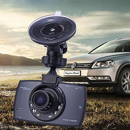 Haihuic Car Dash Camera, Black,For Cars with Full HD 720P 170 Degree Super Wide Angle Cameras, 2.4