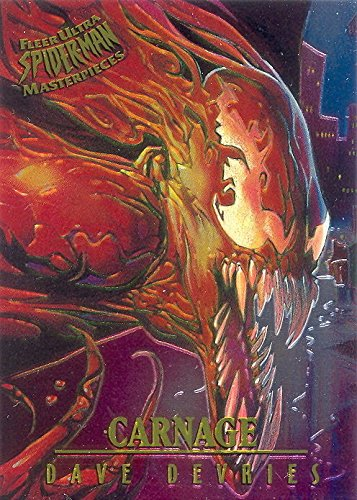 spider-man-1995-fleer-ultra-masterpieces-insert-card-1-of-9-carnage-by-devries