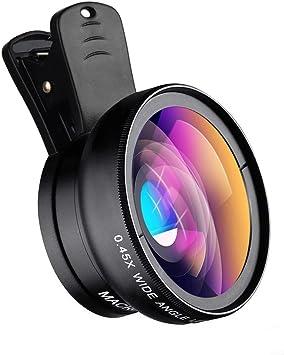 Apexel Universal Phone Cameras Lens Kit 0.45X Lente Gran Angular ...