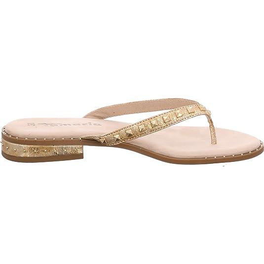 Tamaris Zehenschuhe Gold: : Schuhe & Handtaschen