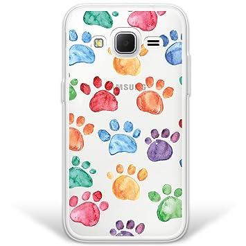 WoowCase Funda Samsung Galaxy Core Prime, [Hybrid] Huellas ...