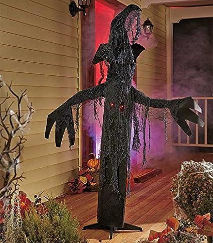 Spooky Tree Halloween Decor | Amazon Com 5 Ft Tall Animated Spooky Tree Halloween Decor Sound