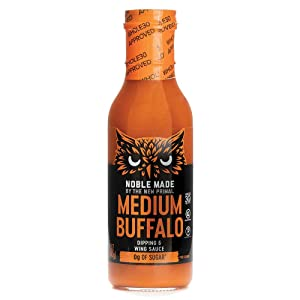 The New Primal, Dipping Wing Sauce Medium Buffalo, 12 Ounce