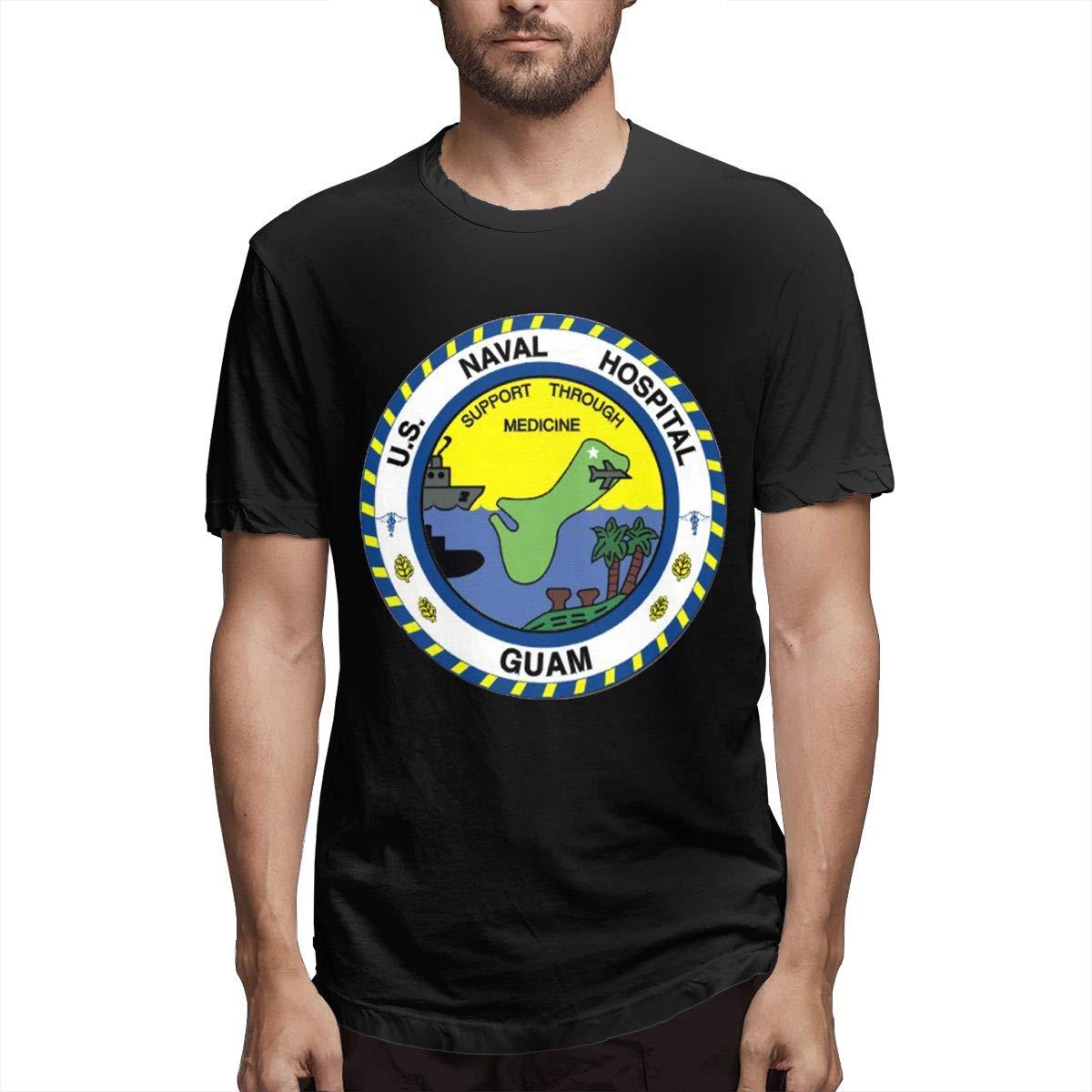 Dahwy Guam Naval Hospital Vinyl Transfer Fashion S T-shirt