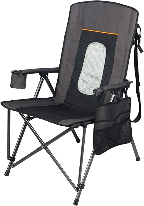 The Best Lightweight Portable Folding High Back Camp Beverage
