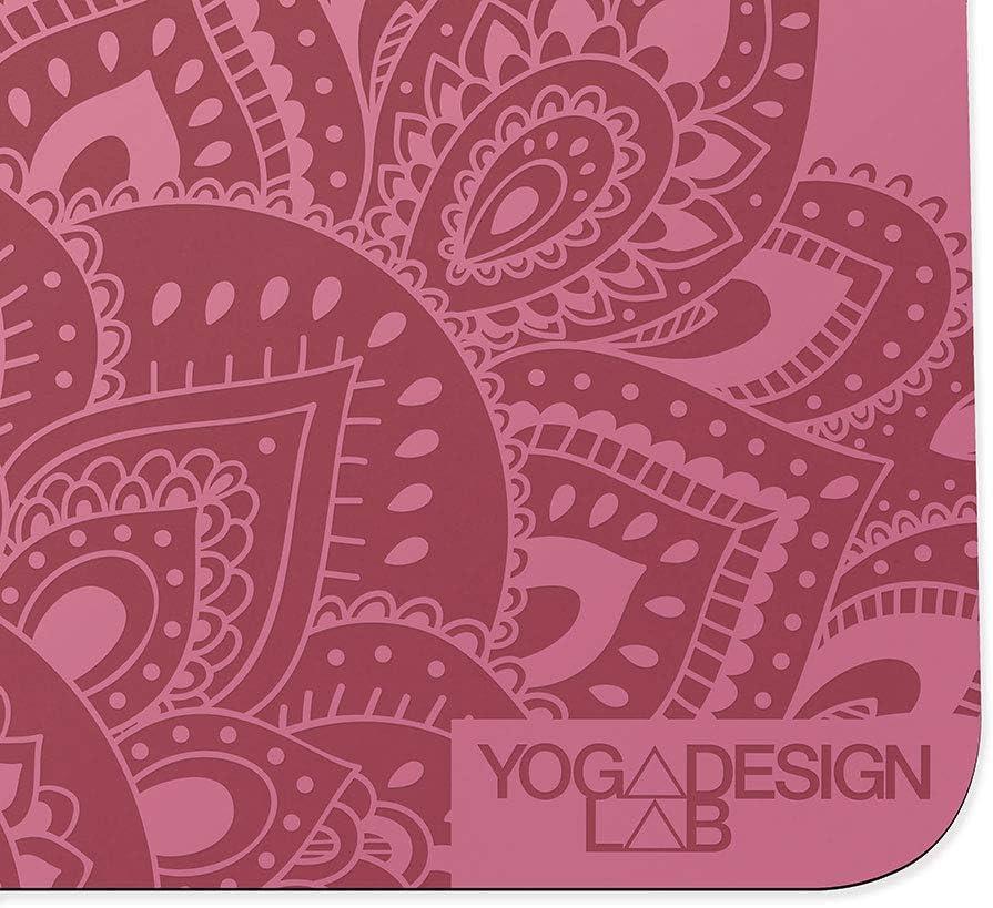 Texture Lisse Non Glissante pour Une stabilit/é et alignement Parfait Sangle de Transport inclue Yoga Design Lab The Infinity Mat 5mm
