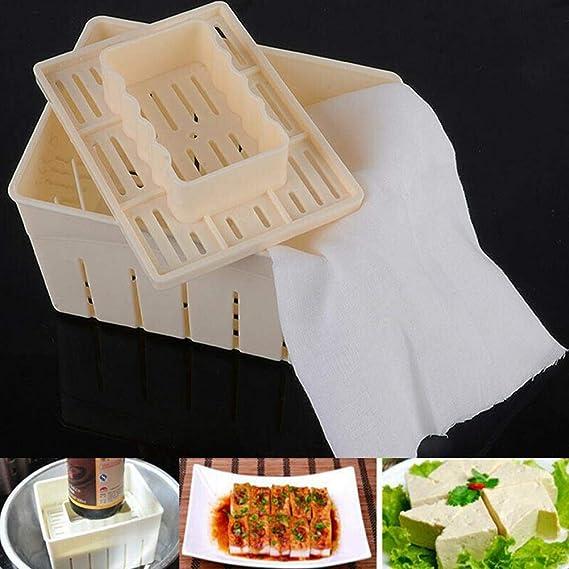 Tofu - Molde para hacer queso y soja casera: Amazon.es: Hogar