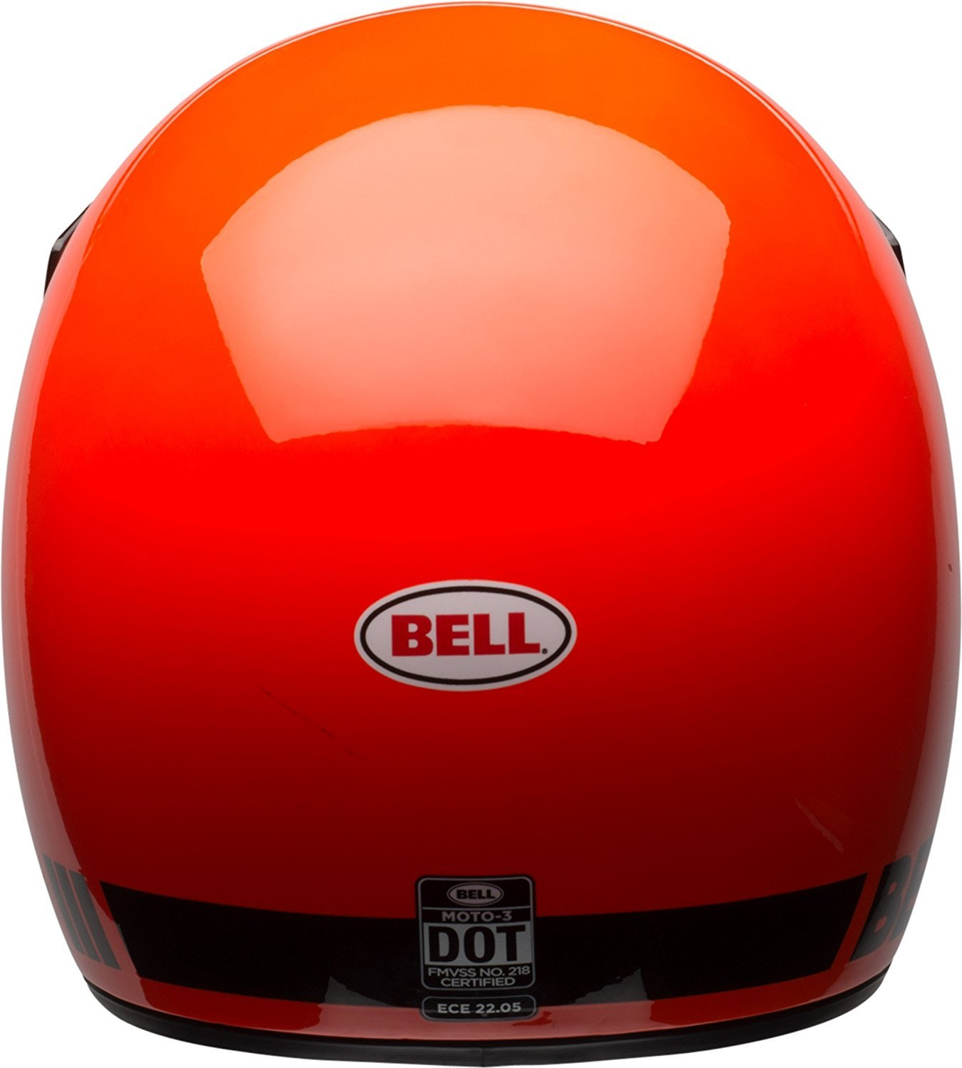 Amazon.com: Bell Moto-3 Off-Road Motorcycle Helmet (Classic Gloss Hi-Viz Orange, Small): Automotive